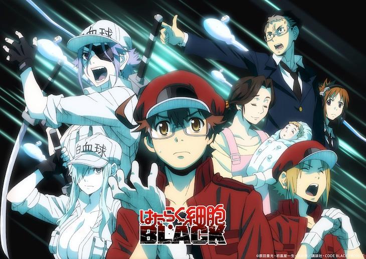 TVアニメ「はたらく細胞BLACK」1時間スペシャルのビジュアル。