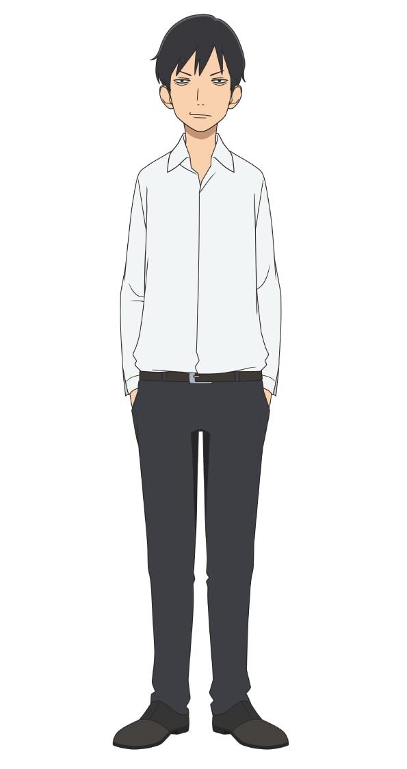 深津吾朗(CV:諏訪部順一) (c)新川直司・講談社/さよなら私のクラマー製作委員会
