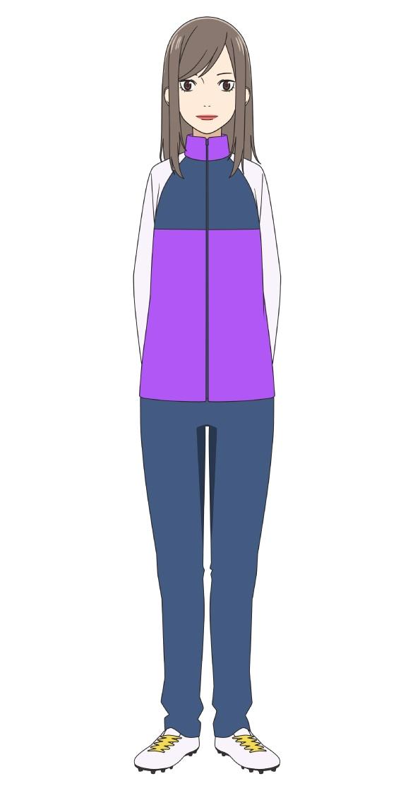 能見奈緒子(CV:甲斐田裕子) (c)新川直司・講談社/さよなら私のクラマー製作委員会