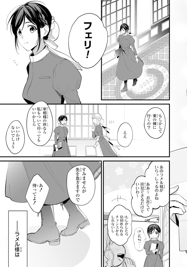 「姫様、無理です!~今をときめく宰相補佐様と関係をもつなんて~」より。