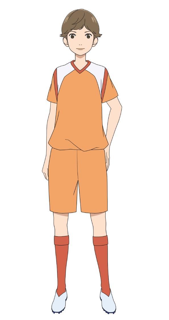 梶みずき(CV:早見沙織) (c)新川直司・講談社/さよなら私のクラマー製作委員会