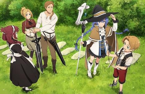 TVアニメ「無職転生 ~異世界行ったら本気だす~」Blu-ray第1巻初回生産限定特典の特製デジパックビジュアル。