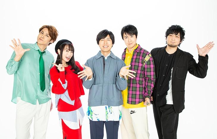TVアニメ「うらみちお兄さん」メインキャスト