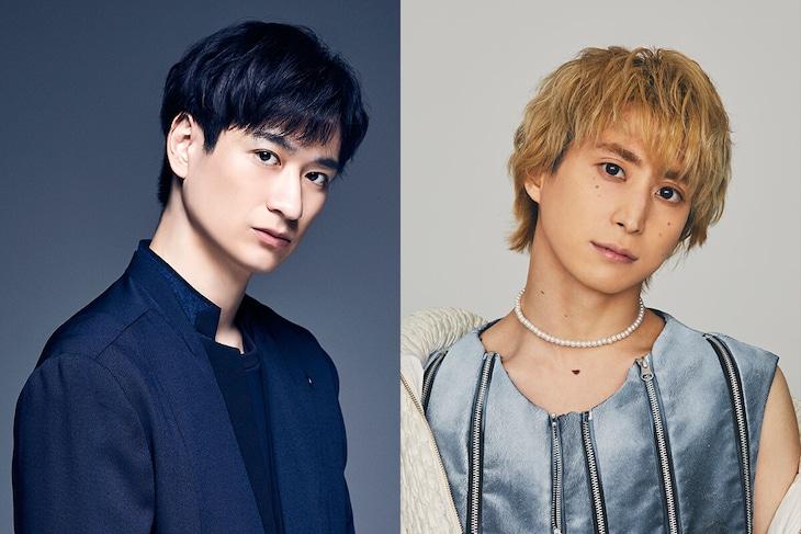 左から宮田俊哉(Kis-My-Ft2)、佐久間大介(Snow Man)。