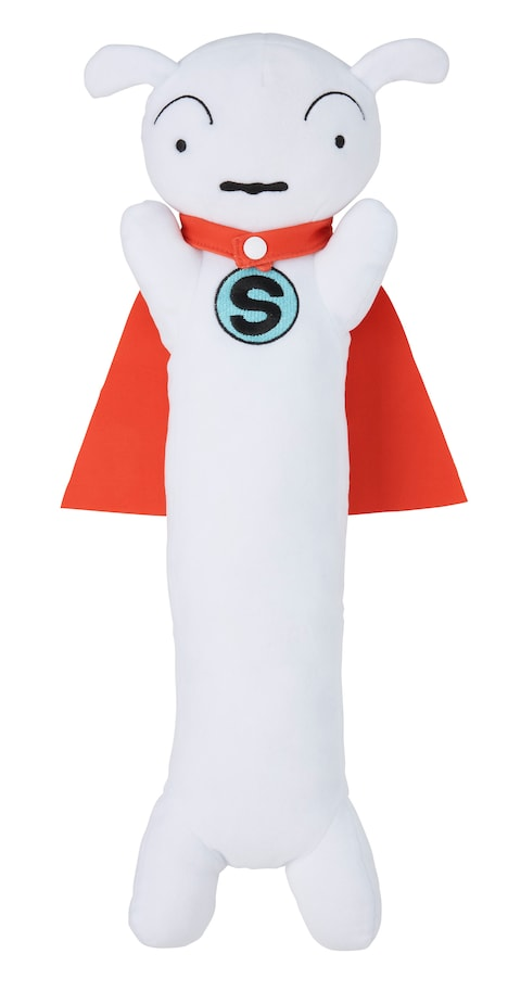 「SUPER SHIRO」Blu-rayに付属する「スーパーシロのふわふわアームレスト」。