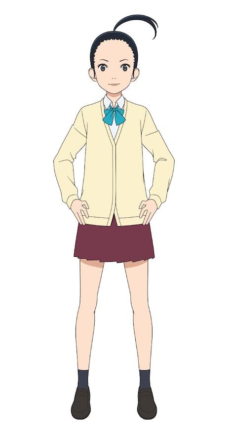 桐島千花(CV:牧野由依) 浦和邦成高校女子サッカー部の2年生。ポジションはミッドフィールダー。曽志崎の中学時代の先輩で、当時はダブルボランチを組んでいた。試合時には特殊防護ゴーグルを着用している。