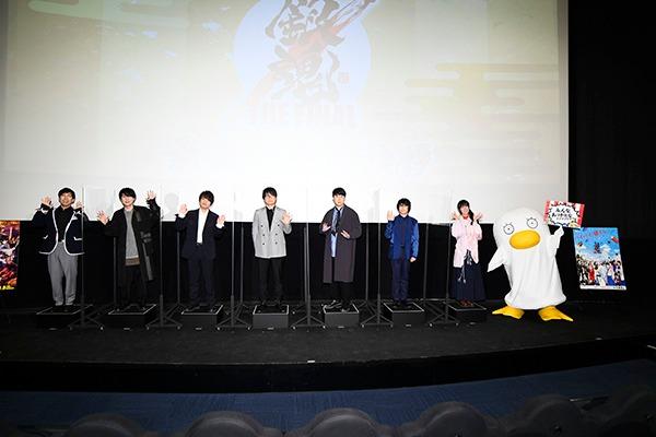 劇場アニメ「銀魂 THE FINAL」舞台挨拶より2ステージ目の様子。