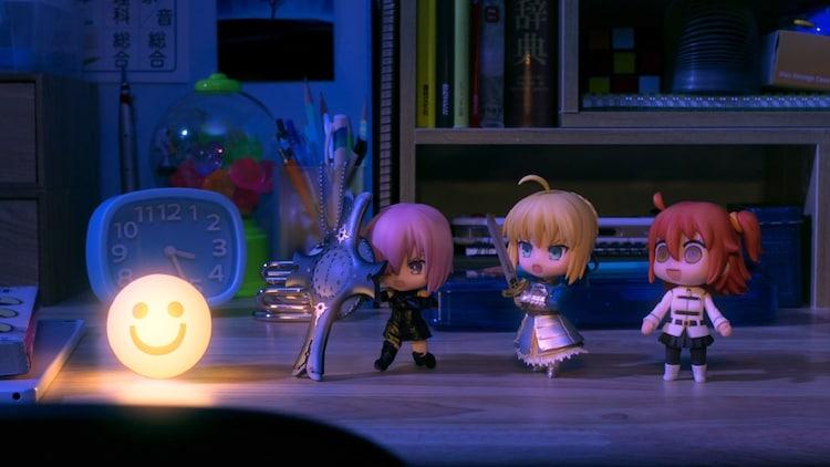 「ねんどろいど15周年 Anniversary PV」より、「Fate/Grand Order」。(c)TYPE-MOON / FGO PROJECT