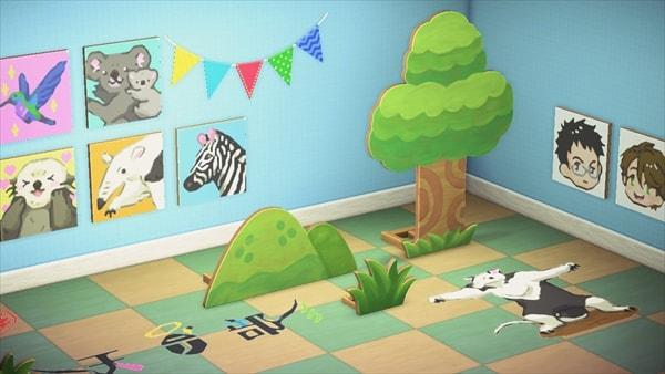 「あつまれ どうぶつの森」で公開された「ガラパゴス島」のイメージ。