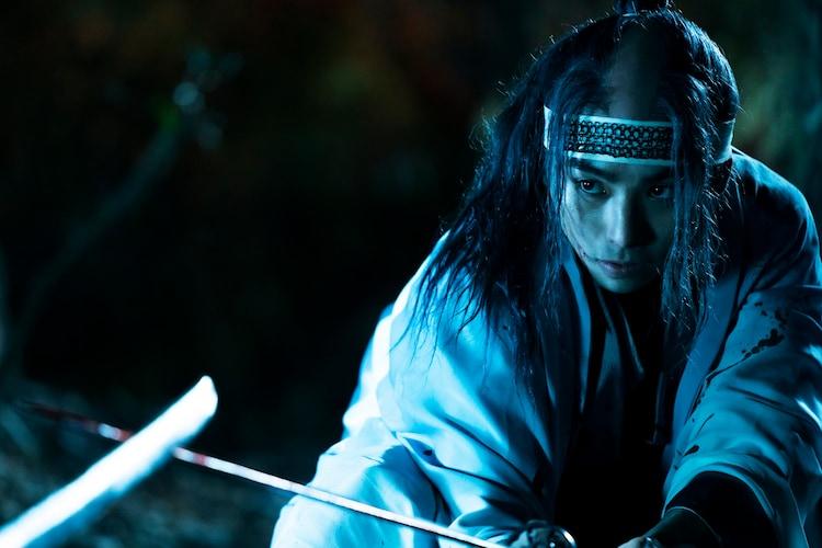 「るろうに剣心 最終章 The Beginning」より、村上虹郎演じる沖田総司。