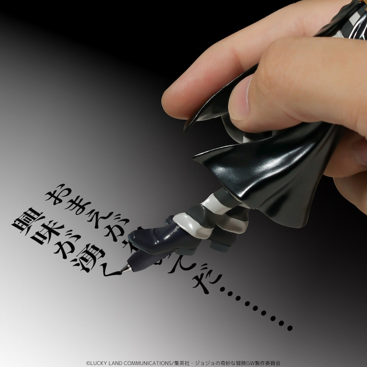 「TVアニメ『ジョジョの奇妙な冒険 黄金の風』リゾット・ネエロ フィギュアペン」