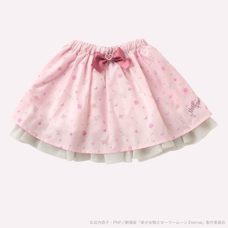 「劇場版『美少女戦士セーラームーンEternal(エターナル)』× mezzo piano 裾チュールスカート」