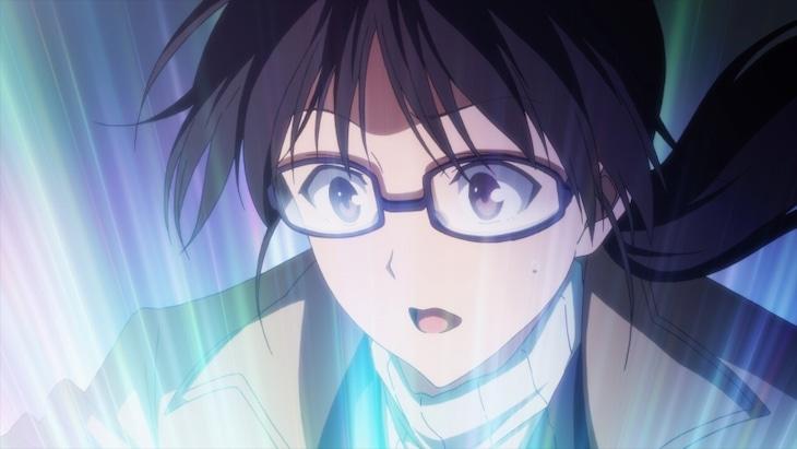 TVアニメ「聖女の魔力は万能です」第1話場面カット。