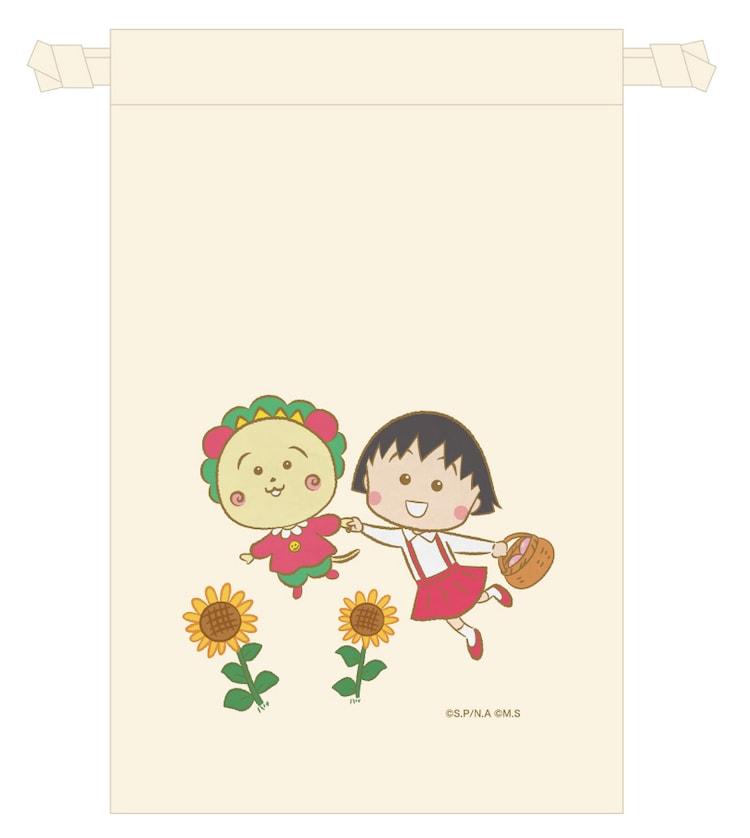 「まる子とコジコジストア」限定商品の巾着。(c)さくらプロダクション/日本アニメーション (c)さくらプロダクション (c)さくらももこ