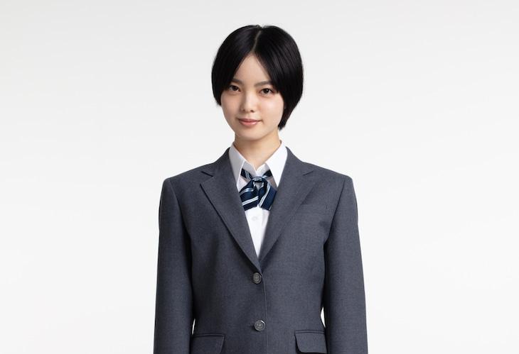 「ドラゴン桜」岩崎楓役 の平手友梨奈。(c)TBS