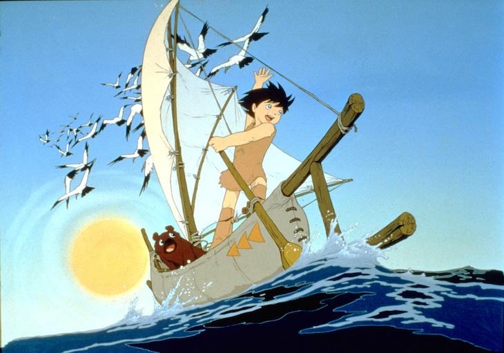 「太陽の王子 ホルスの大冒険 4Kリマスター版」より。(c)東映
