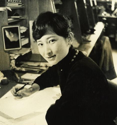 東映動画時代の中村和子。