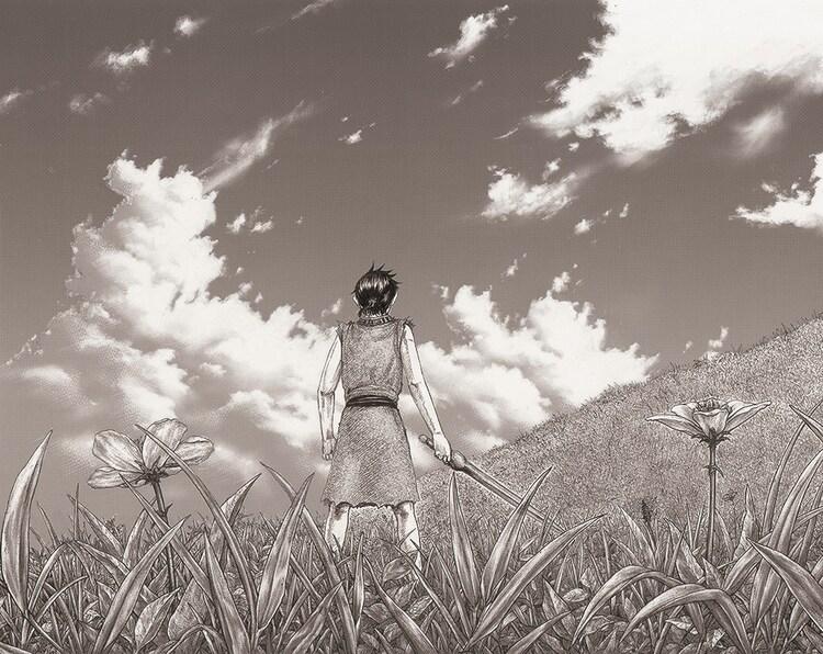 原泰久による描き下ろしイラスト  (c)原泰久/集英社