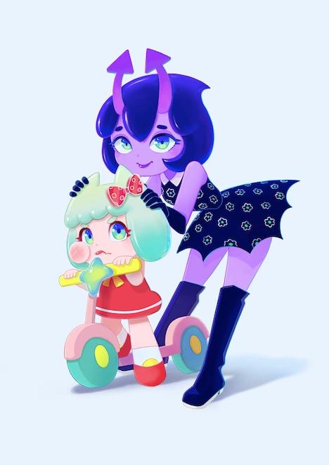 ストップモーションアニメ「Candy Caries」ビジュアル