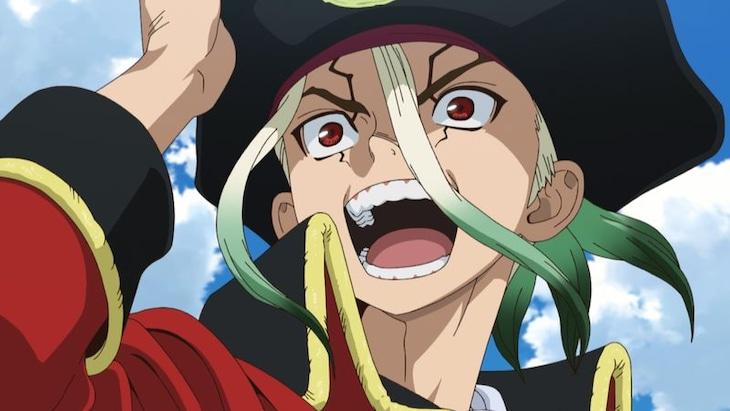 TVアニメ「Dr.STONE」スペシャルPVより。