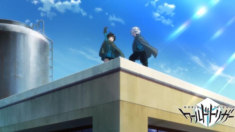 TVアニメ「ワールドトリガー」3rdシーズンより、開発中の最新カット。
