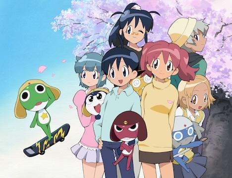 アニメ「ケロロ軍曹」ビジュアル