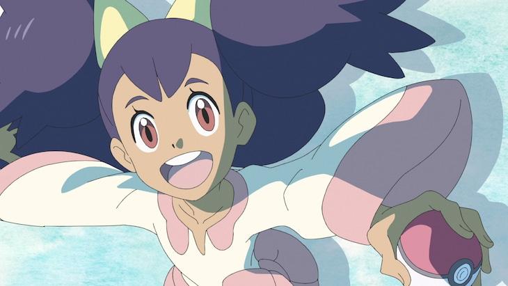5月7日放送の「ドラゴンバトル!サトシVSアイリス!!」より。 (c)Nintendo・Creatures・GAME FREAK・TV Tokyo・ShoPro・JR Kikaku (c)Pokemon