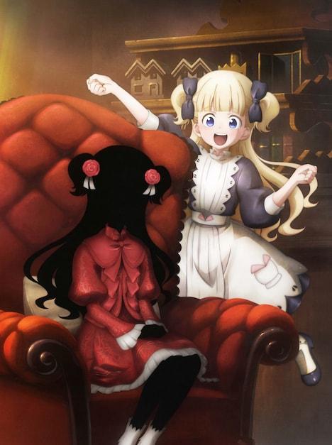 アニメ「シャドーハウス」Blu-ray / DVD第1巻のジャケット。