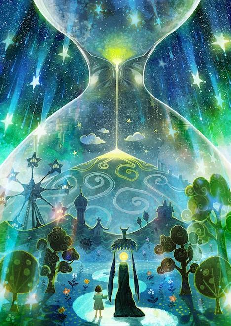 オリジナルアニメプロジェクト「夜の国」キービジュアル