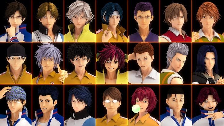 劇場アニメ「リョーマ! The Prince of Tennis 新生劇場版テニスの王子様」特報より。