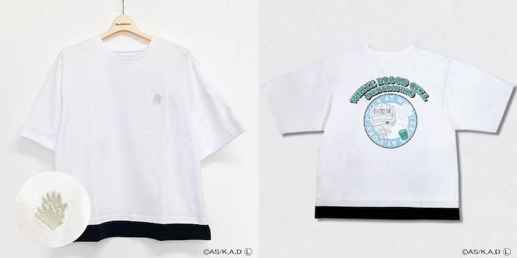 「はたらく細胞 キャラクターTシャツ(ホワイト)」