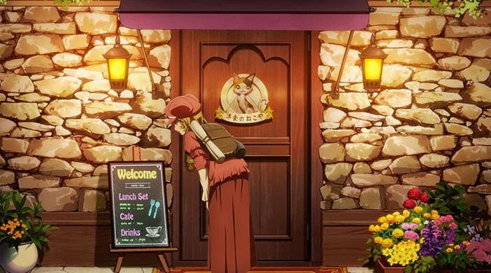 TVアニメ「異世界食堂」第2期のティザービジュアル。
