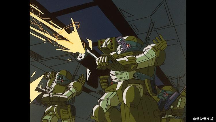 OVA「装甲騎兵ボトムズ ザ・ラストレッドショルダー」HDリマスター版より。