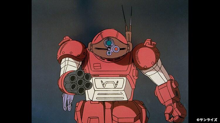 OVA「装甲騎兵ボトムズ ウド」HDリマスター版より。