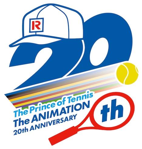 アニメ「テニスの王子様」20周年ロゴ