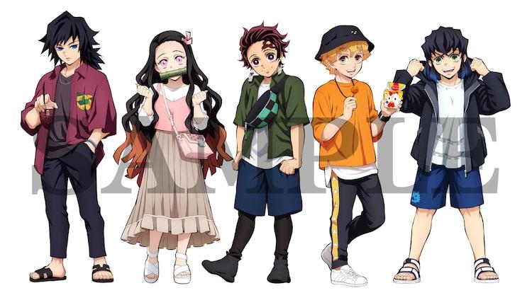 夏服を着用したキャラクターの描き下ろしイラスト。 ※画像はイメージ。