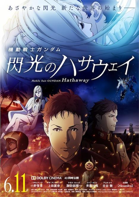 「機動戦士ガンダム 閃光のハサウェイ」キービジュアル