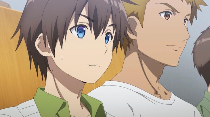 TVアニメ「ぼくたちのリメイク」PV第2弾より。 (c)木緒なち・KADOKAWA/ぼくたちのリメイク製作委員会