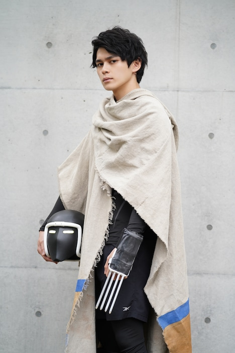「キン肉マン THE LOST LEGEND」に本人役で出演する眞栄田郷敦。