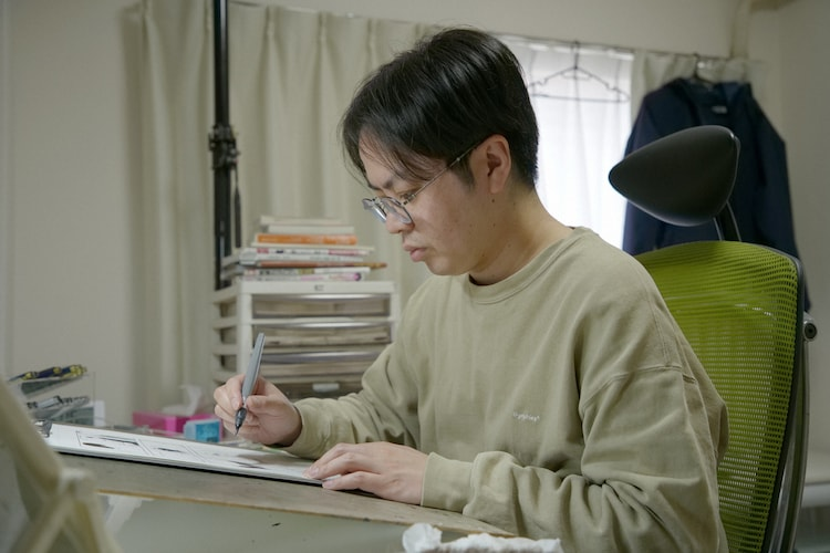 押見修造(写真提供:NHK)