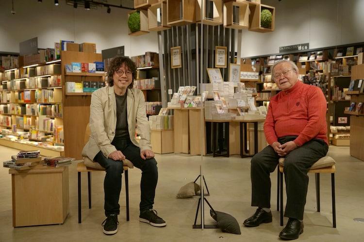 「浦沢直樹の漫勉neo」より。左から浦沢直樹、安彦良和。(写真提供:NHK)