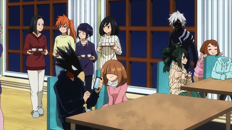 TVアニメ「僕のヒーローアカデミア」第5期第12話「新しい力とオール・フォー・ワン」の場面カット。