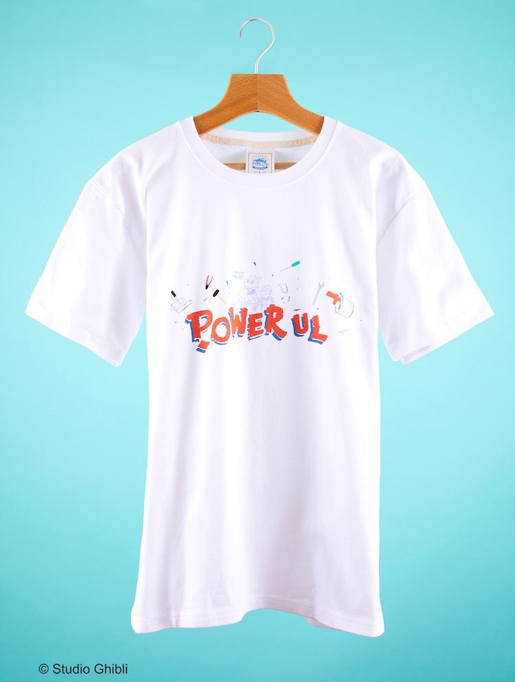 「紅の豚 Tシャツ POWERFUL」