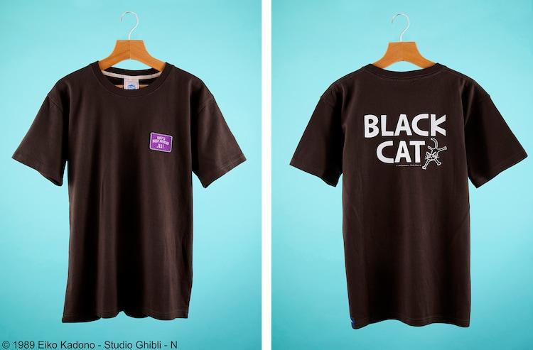 「魔女の宅急便 Tシャツ BLACK CAT」