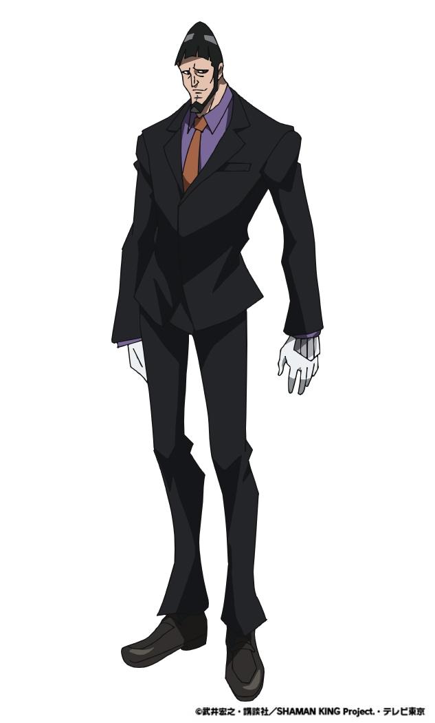 ラキスト(CV:松田健一郎)。 ハオの部下で「星組」のメンバー。右腕ともいえる存在で、基本的に紳士的な行動をとるが、ハオを侮辱する者には容赦がない。