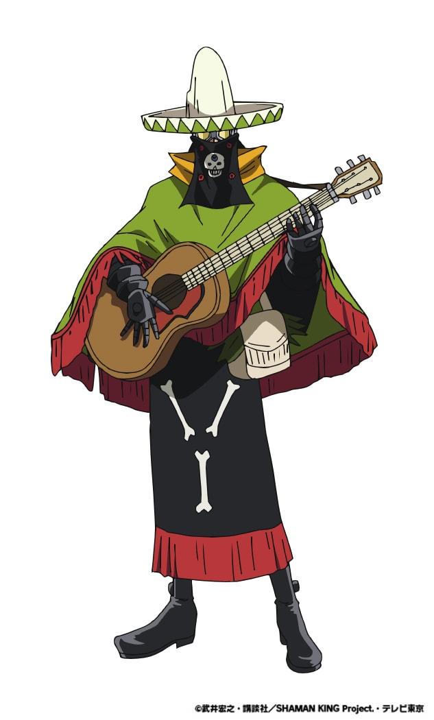 ペヨーテ・ディアス(CV:真殿光昭)。 ハオの部下で「土組」のメンバー。メキシコ出身のシャーマンで、カラベラ人形という人形を媒介として戦う。持霊は7人のマリアッチ。