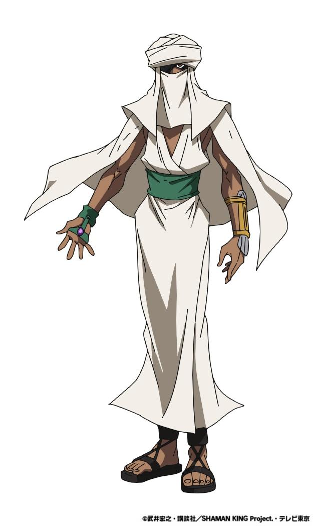 ターバイン(CV:勝杏里)。 ハオの部下で「月組」のメンバー。元は中東の戦地を転々と渡り歩く傭兵で、照れ屋な性格から顔面をターバンなどで覆い隠している。持霊はランプの魔人・ジン。