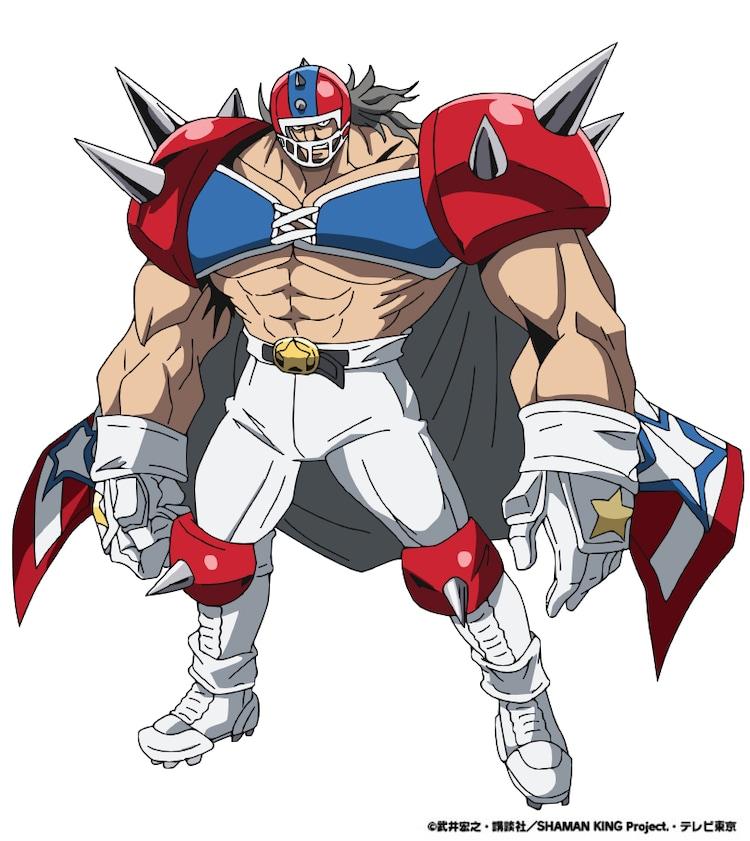 ビッグガイ・ビル(CV:藤原貴弘)。 ハオの部下で「月組」のメンバー。強靭な肉体を持つ、元アメフト選手。持霊は21人のチームメイツ。