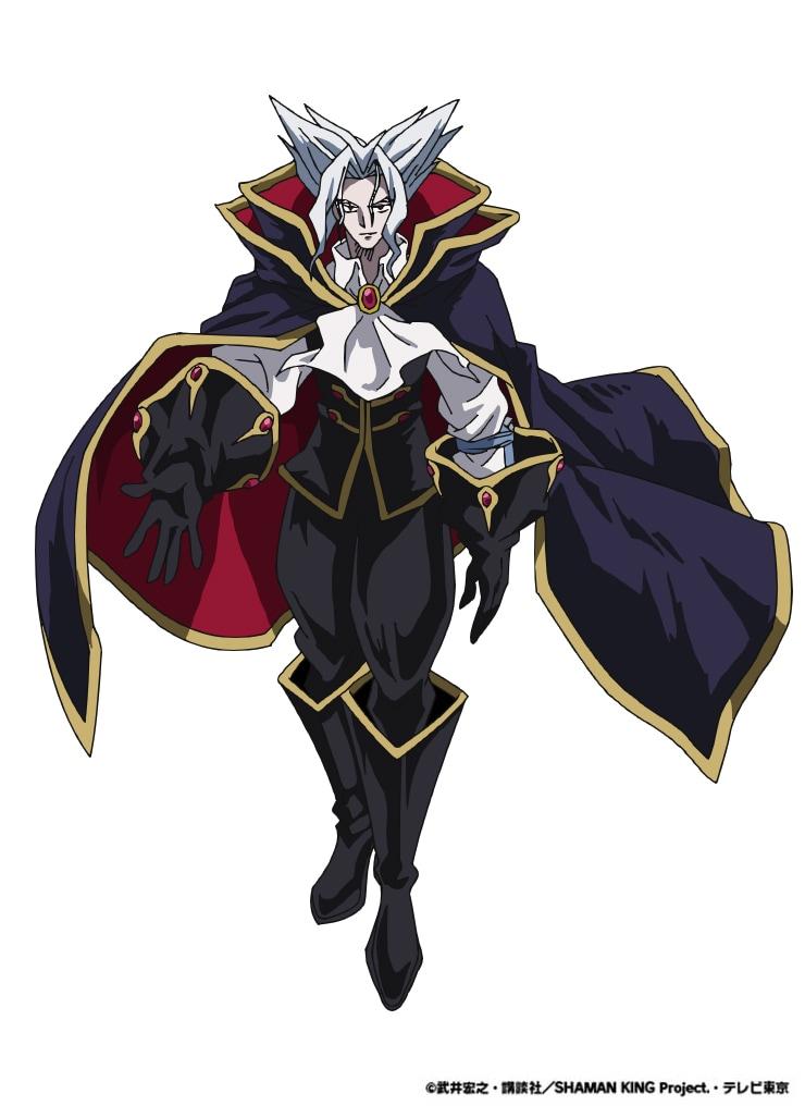 ボリス=ツェペシュ=ドラキュラ(CV:置鮎龍太郎)。 ハオの部下。本人曰く感情的になりやすい性格で、ある理由からダマヤジのことを嫌っている。