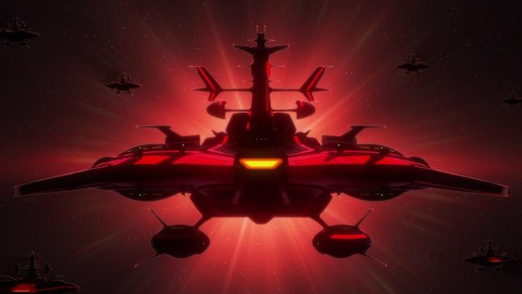 「宇宙戦艦ヤマト2205 新たなる旅立ち 前章 -TAKE OFF-」より。(c)西﨑義展/宇宙戦艦ヤマト2205製作委員会
